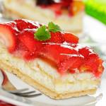 Erdbeer und Obstkuchen