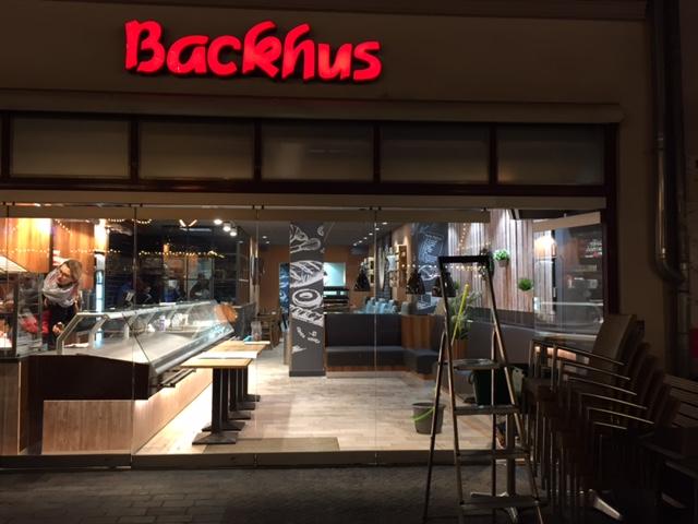 nach renovierung premium backhus filiale in rostock backhus brot und backwaren. Black Bedroom Furniture Sets. Home Design Ideas
